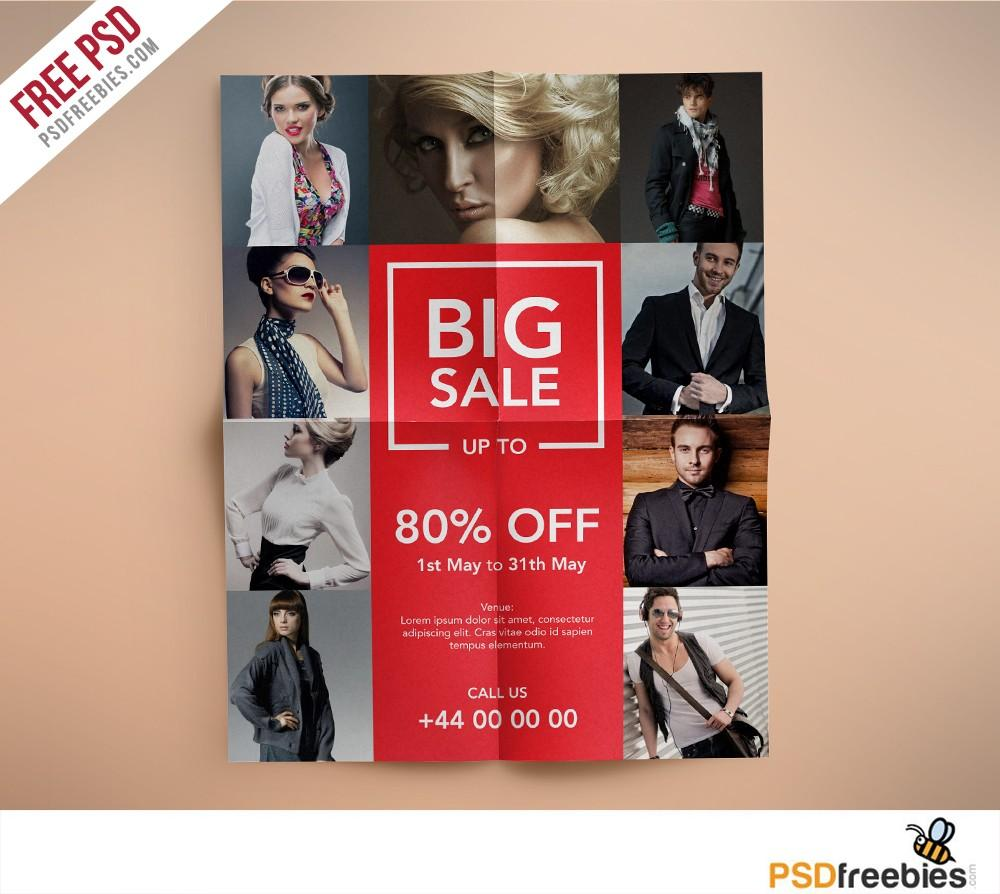 Boutique Flyer Template Free Psd