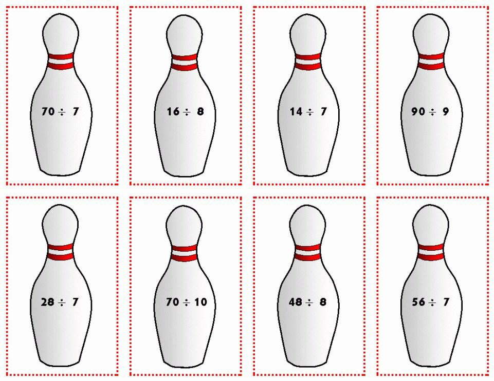 Bowling Pin Birthday Invitation Template