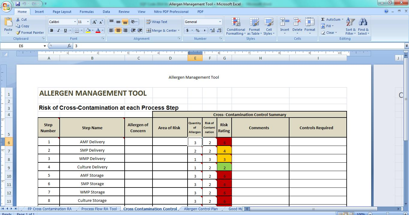 Brc Supplier Risk Assessment Template