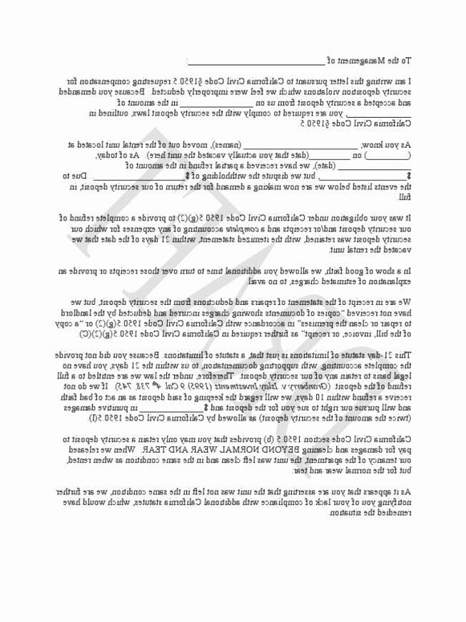 Breach Of Contract California Template