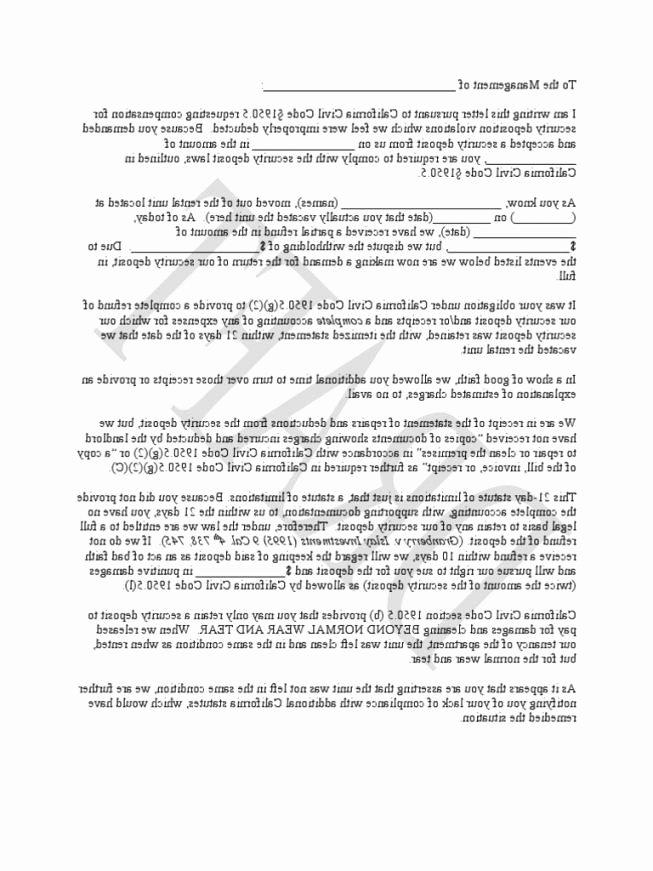 Breach Of Contract Demand Letter Template