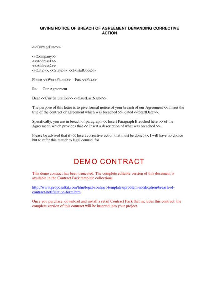 Breach Of Contract Examples Uk