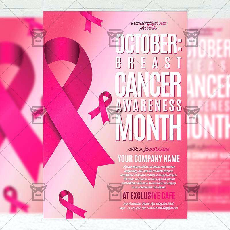 Breast Cancer Awareness Invitation Templates Free