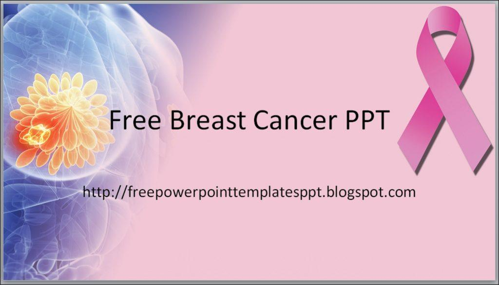 Breast Cancer Ribbon Template Free
