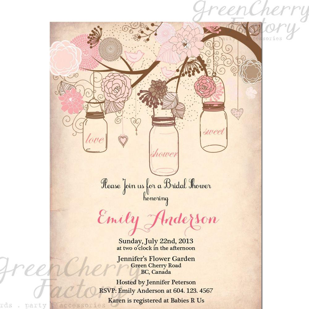 Bridal Invitation Templates