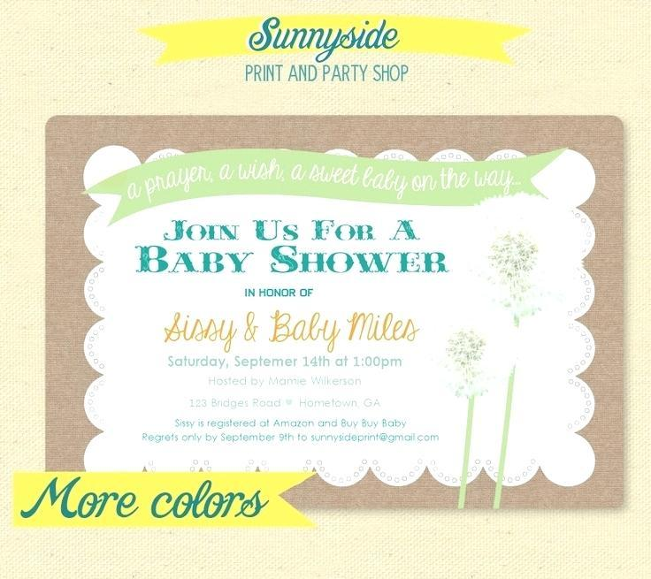 Bridal Shower Invitation Cards Templates