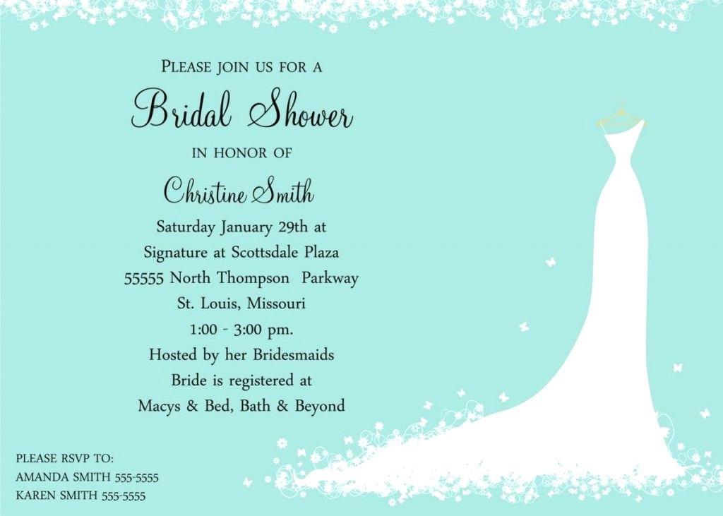Bridal Shower Invitation Templates Microsoft Publisher