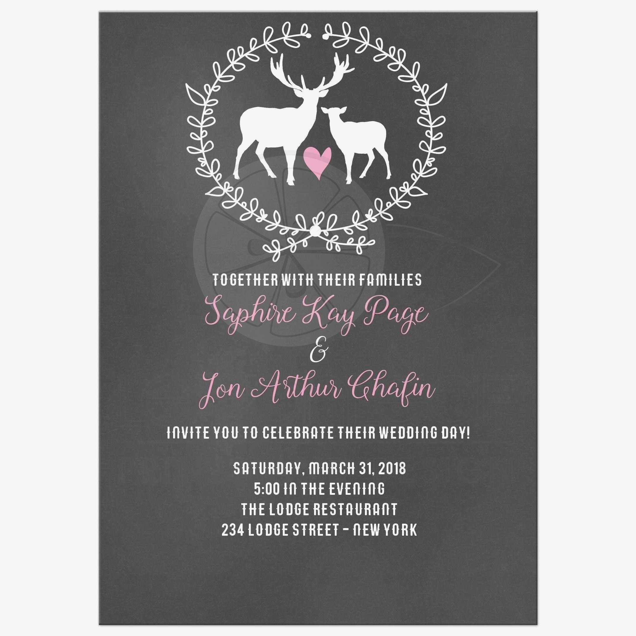 Bridal Shower Invitations Templates Download