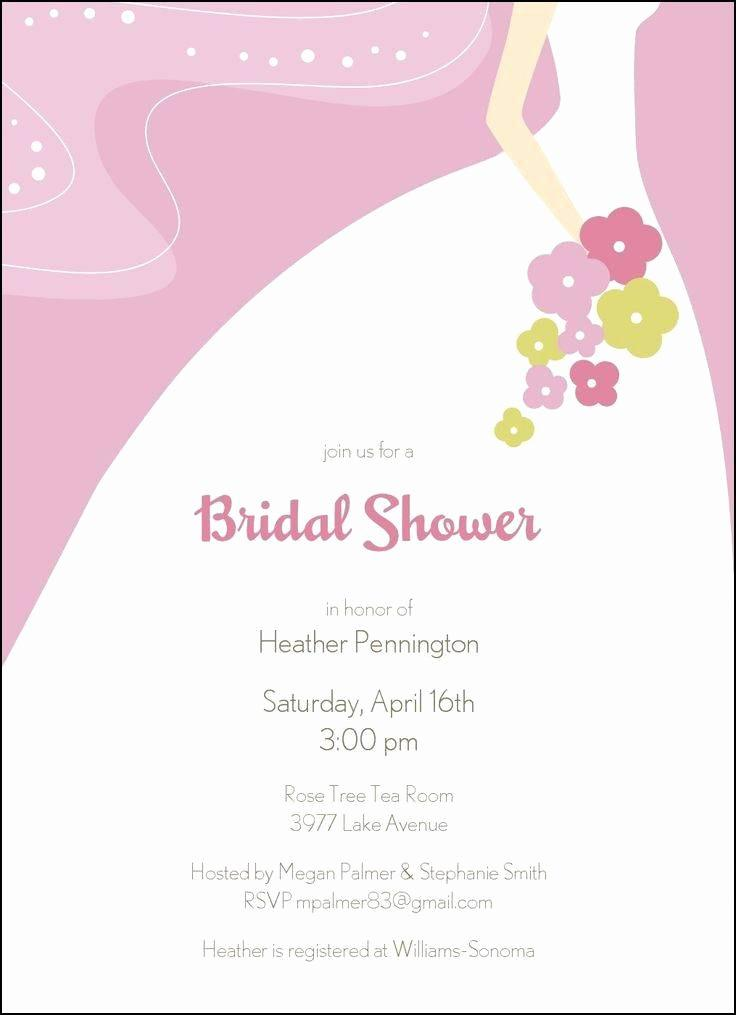 Bridal Shower Tea Party Invitations Templates