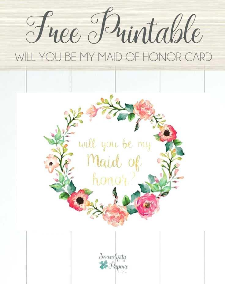 Bridesmaid Dress Invitation Template