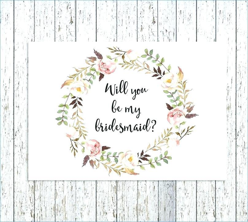 Bridesmaid Invitation Maker