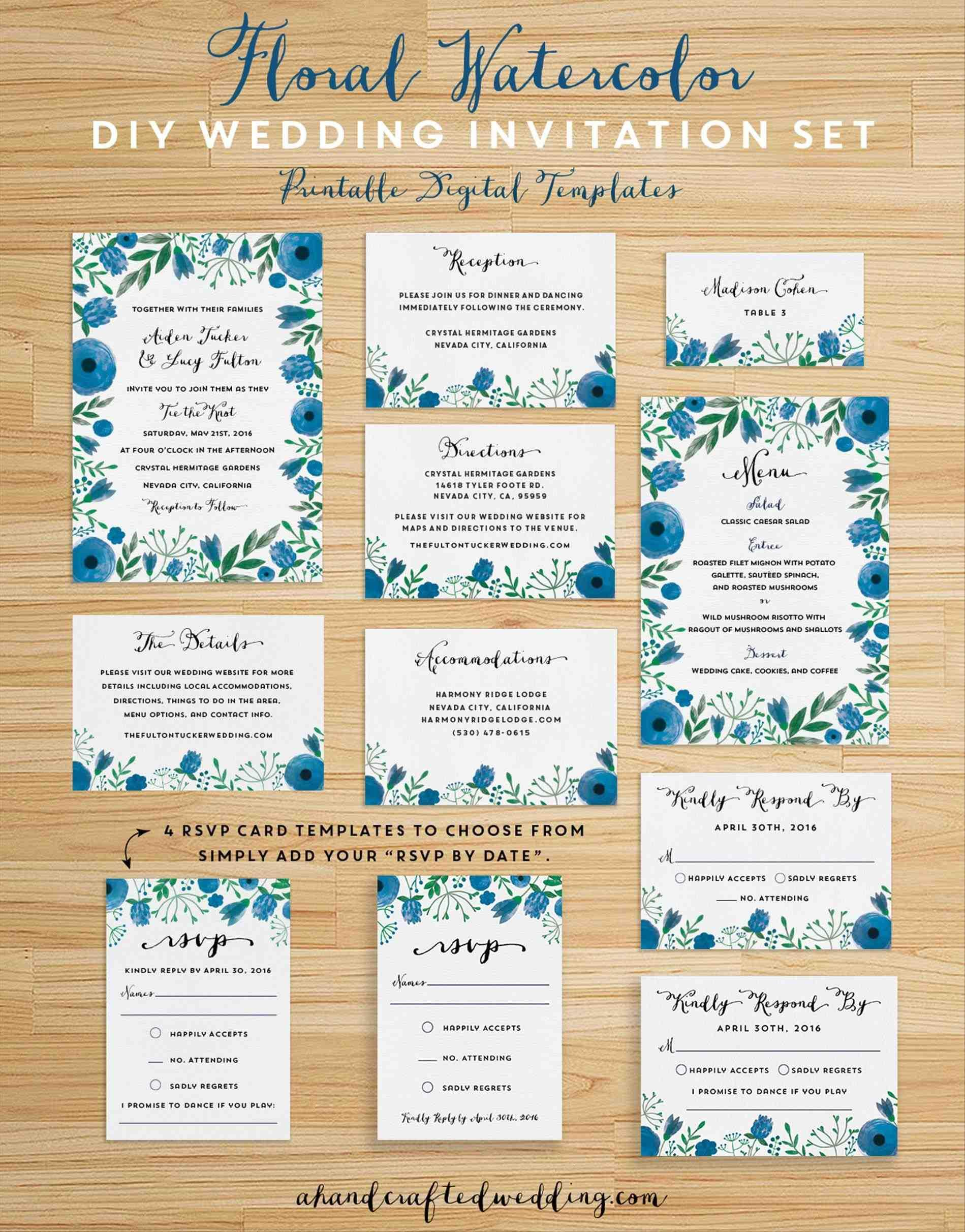 Bridesmaid Invitation Templates