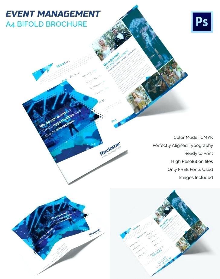 Brochure Booklet Template Word