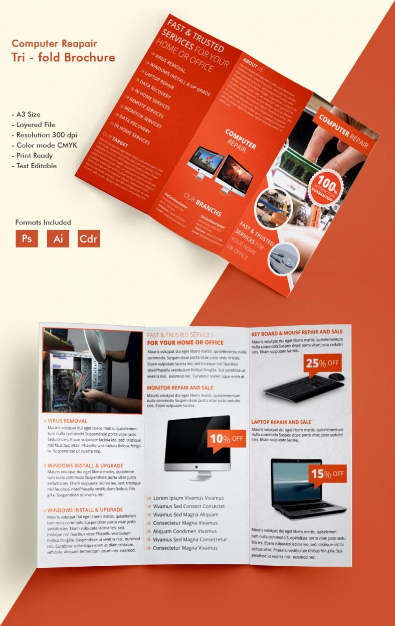 Brochure Templates Free Download For Mac