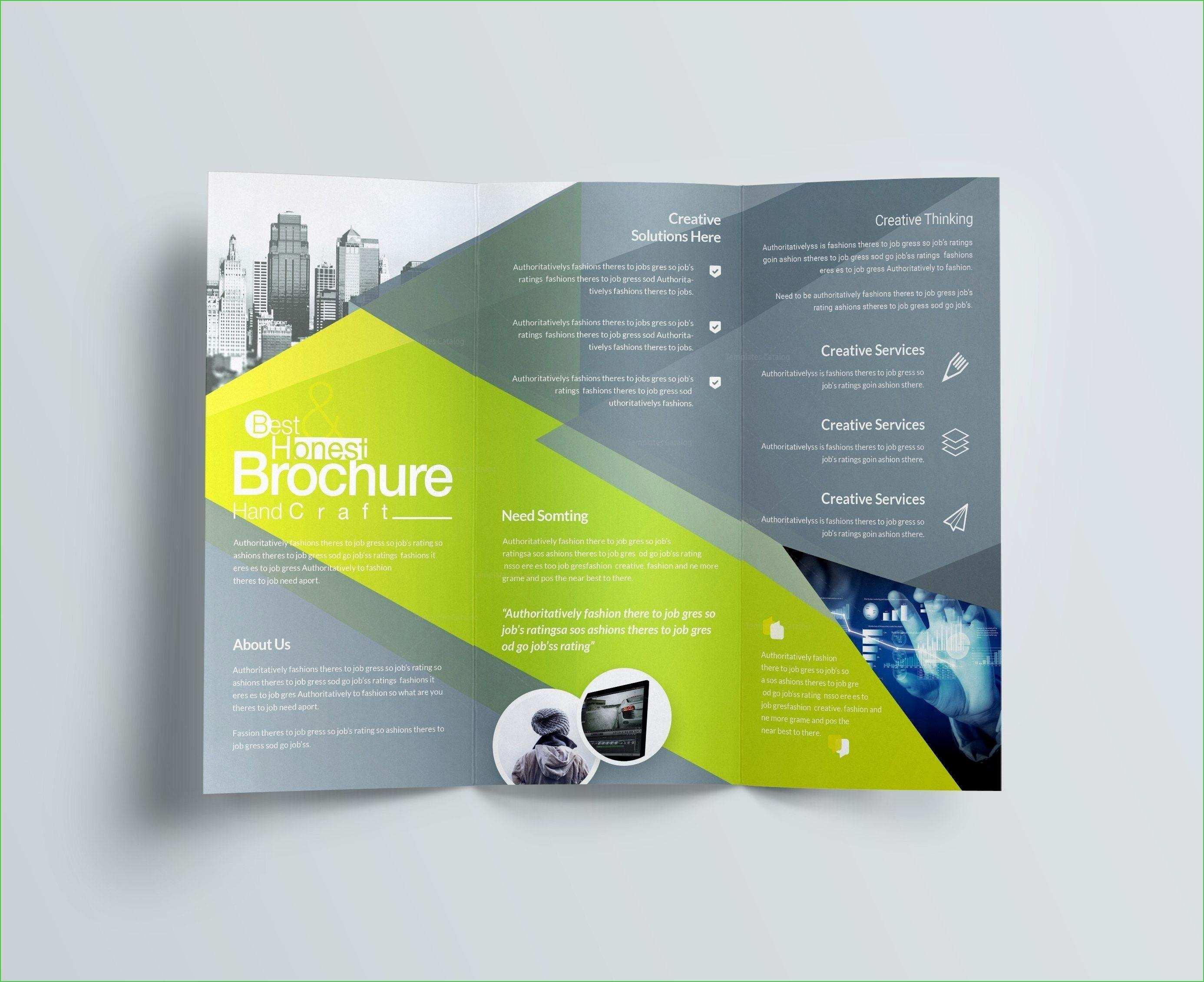 Brochure Templates Indesign Free Download