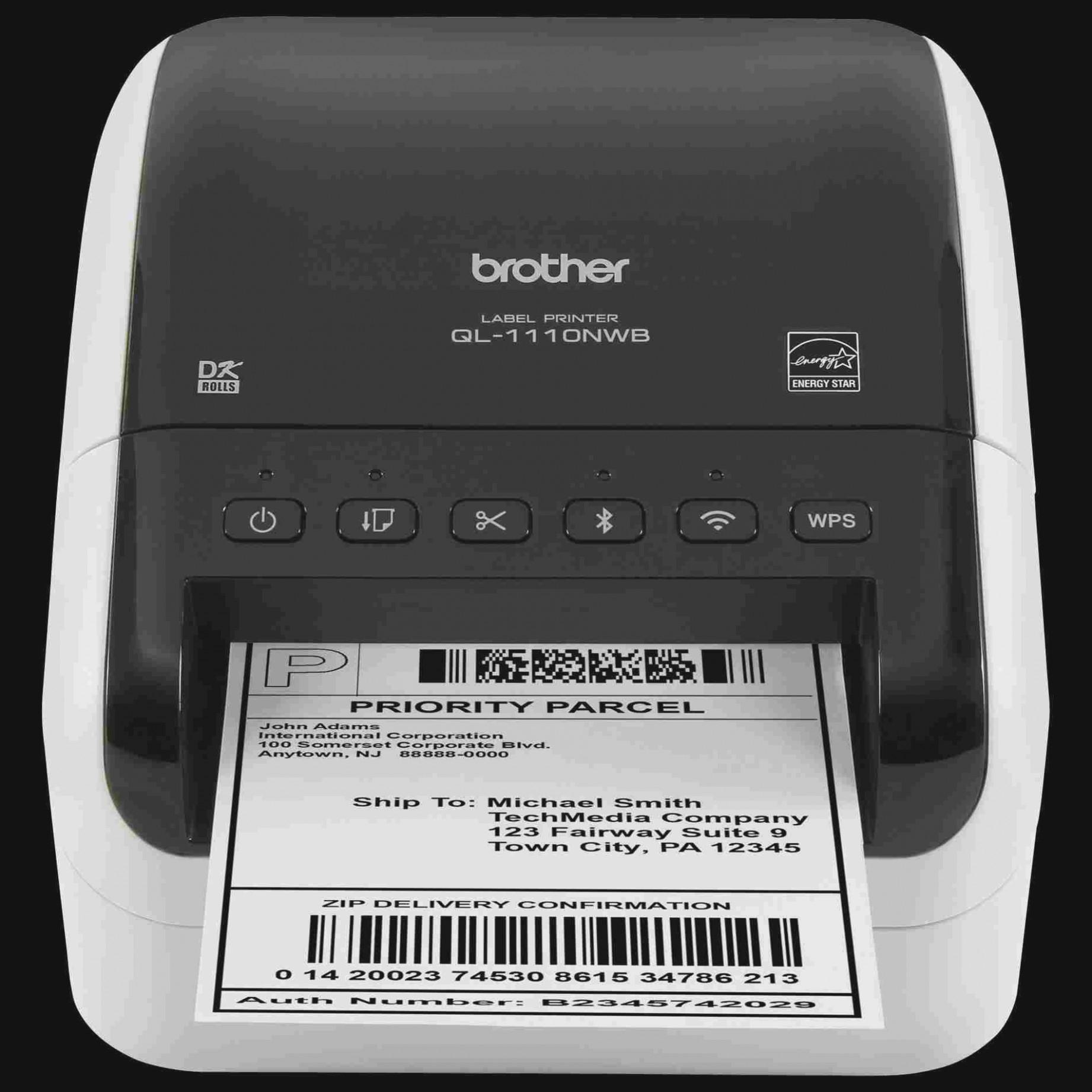 Brother Printer Label Template