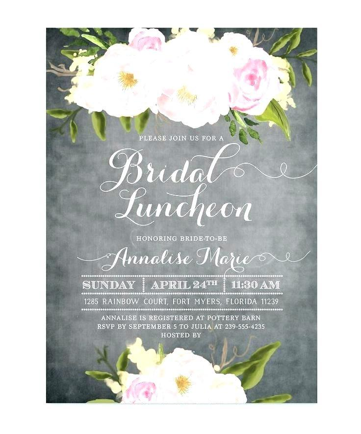 Brunch Invitation Card Template