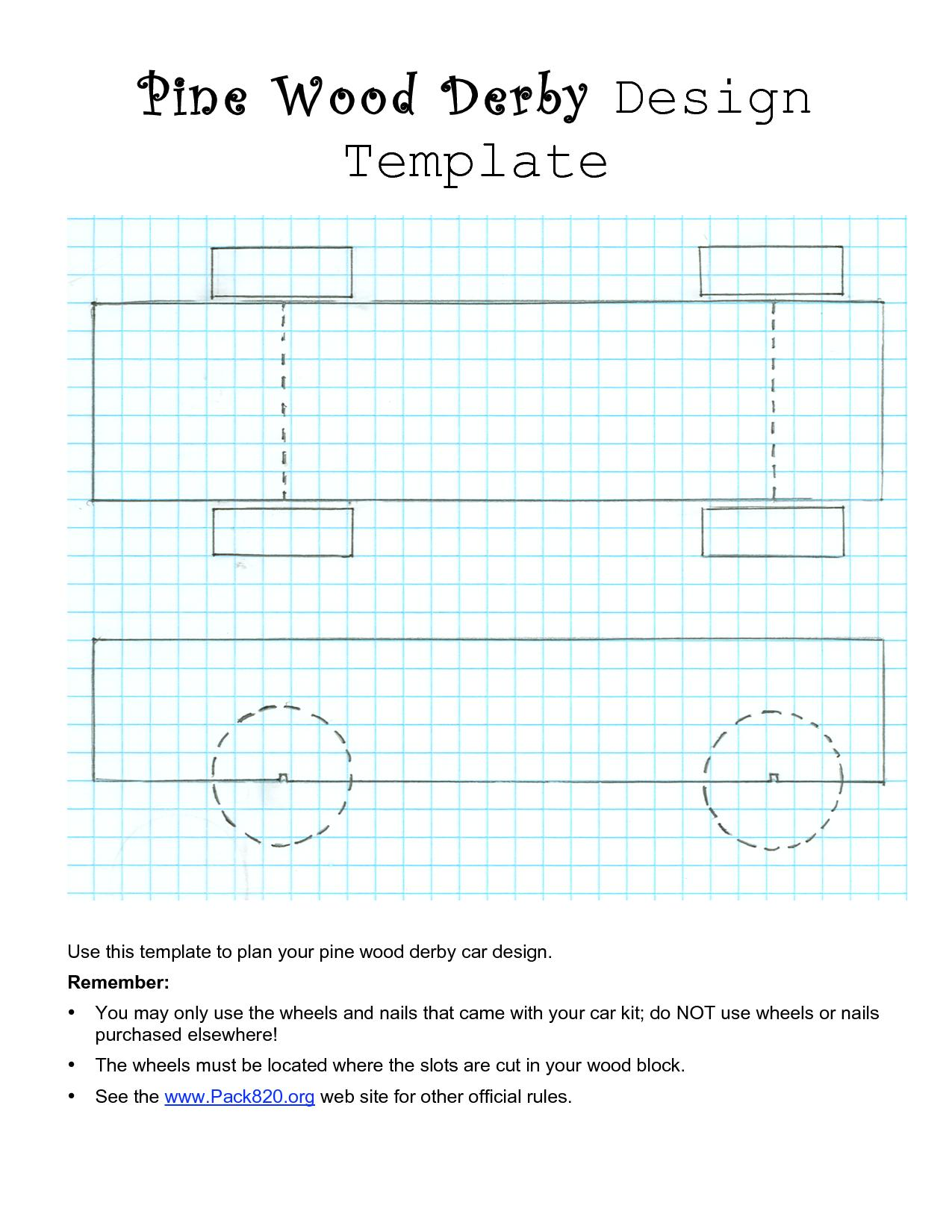Bsa Pinewood Derby Design Templates