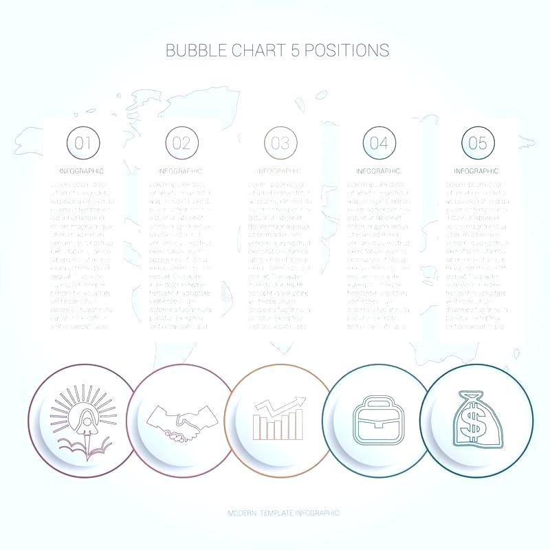 Bubble Timeline Chart Template