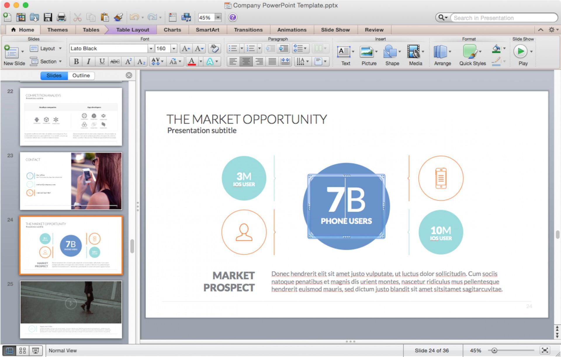 Budget Presentation Templates