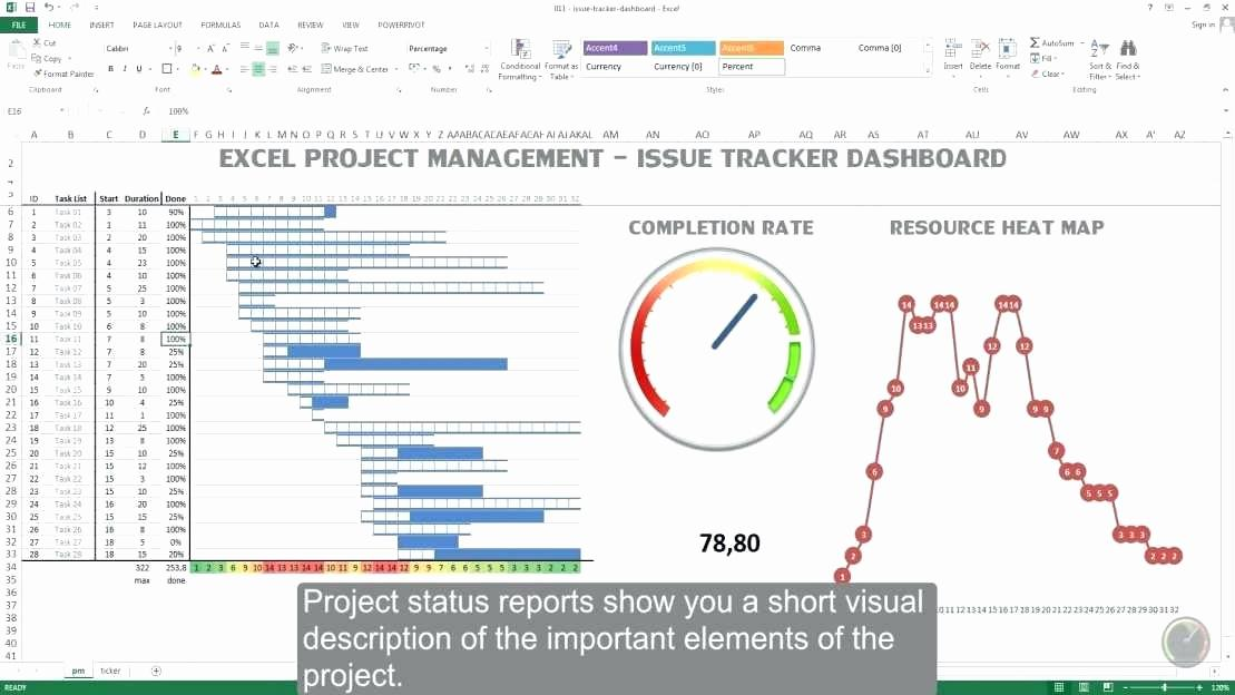 Bug Tracking Template Excel