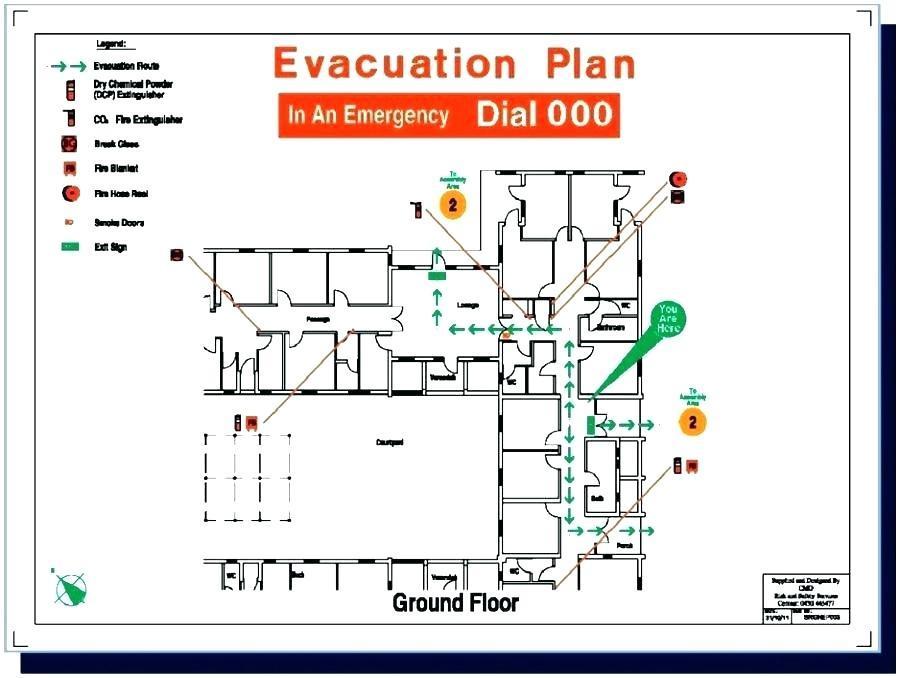 Building Evacuation Plan Template
