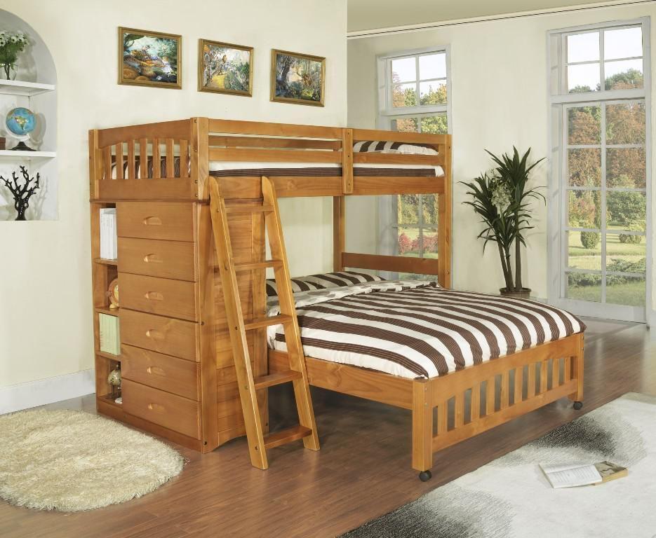 Bunk Bed Plans Full Over Queen