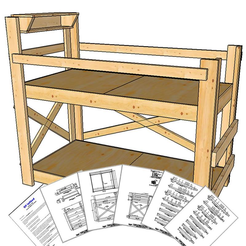 Bunk Bed Plans Twin