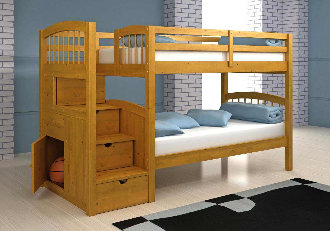 Bunk Bed Plans With Stairs Pdf