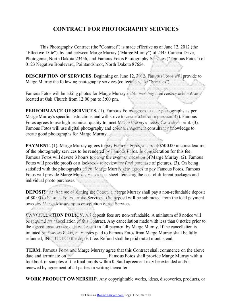 Business Agreements Samples