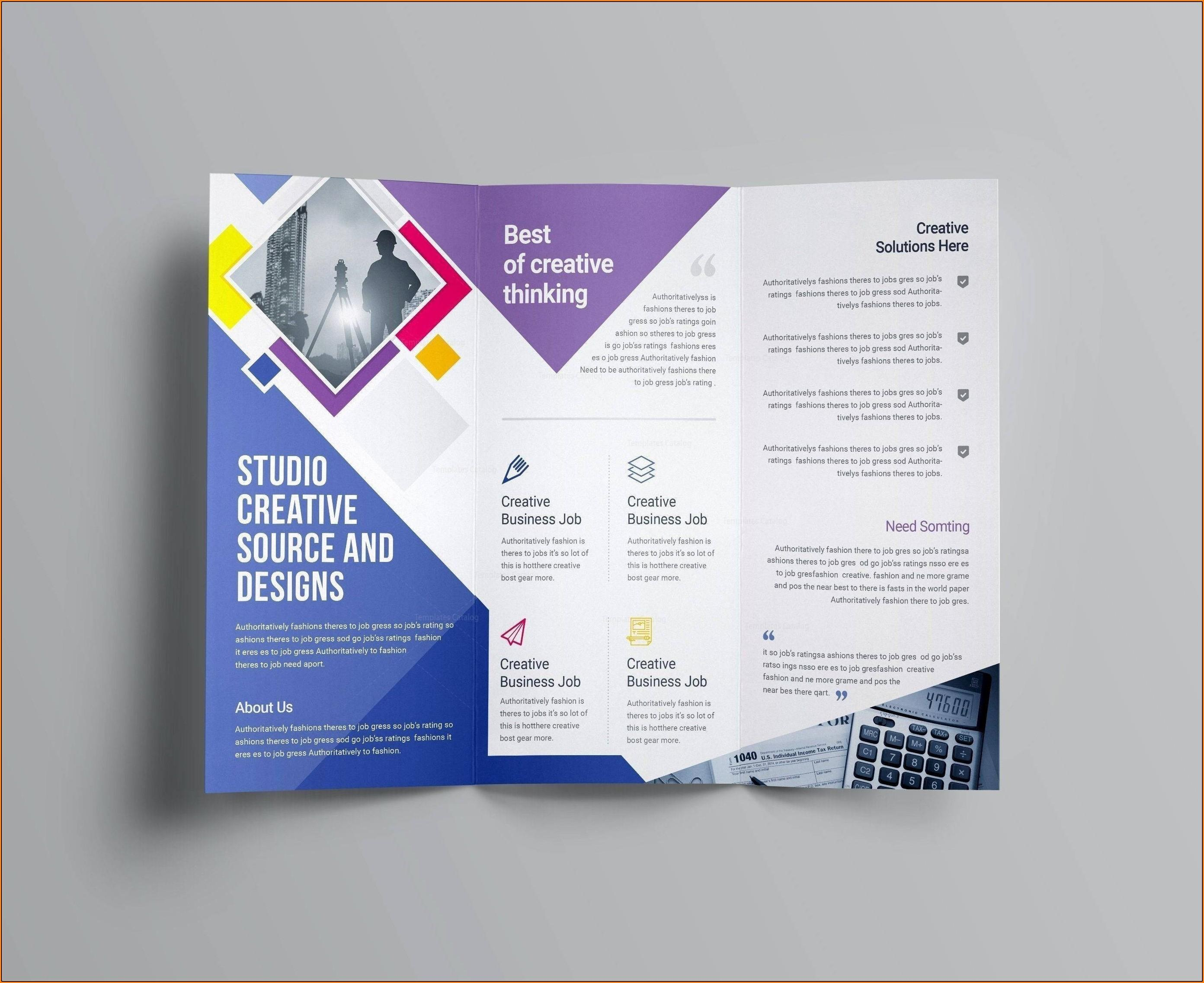Business Brochure Templates Psd Free Download