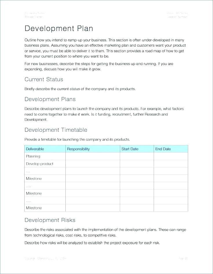 Business Continuity Plan Template For It Systems