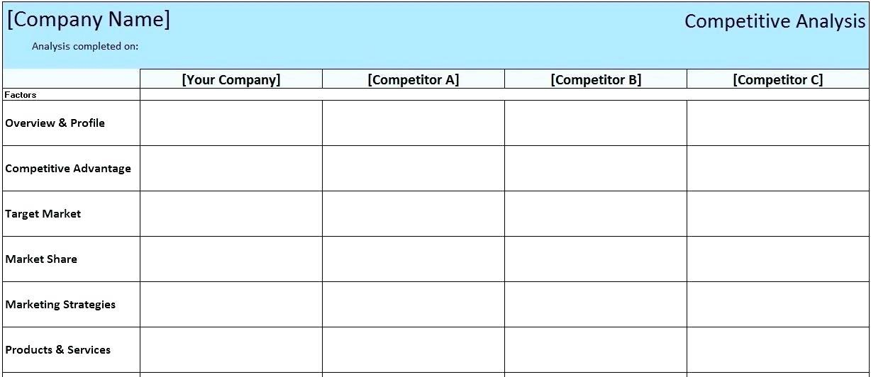 Business Financial Spreadsheet Templates