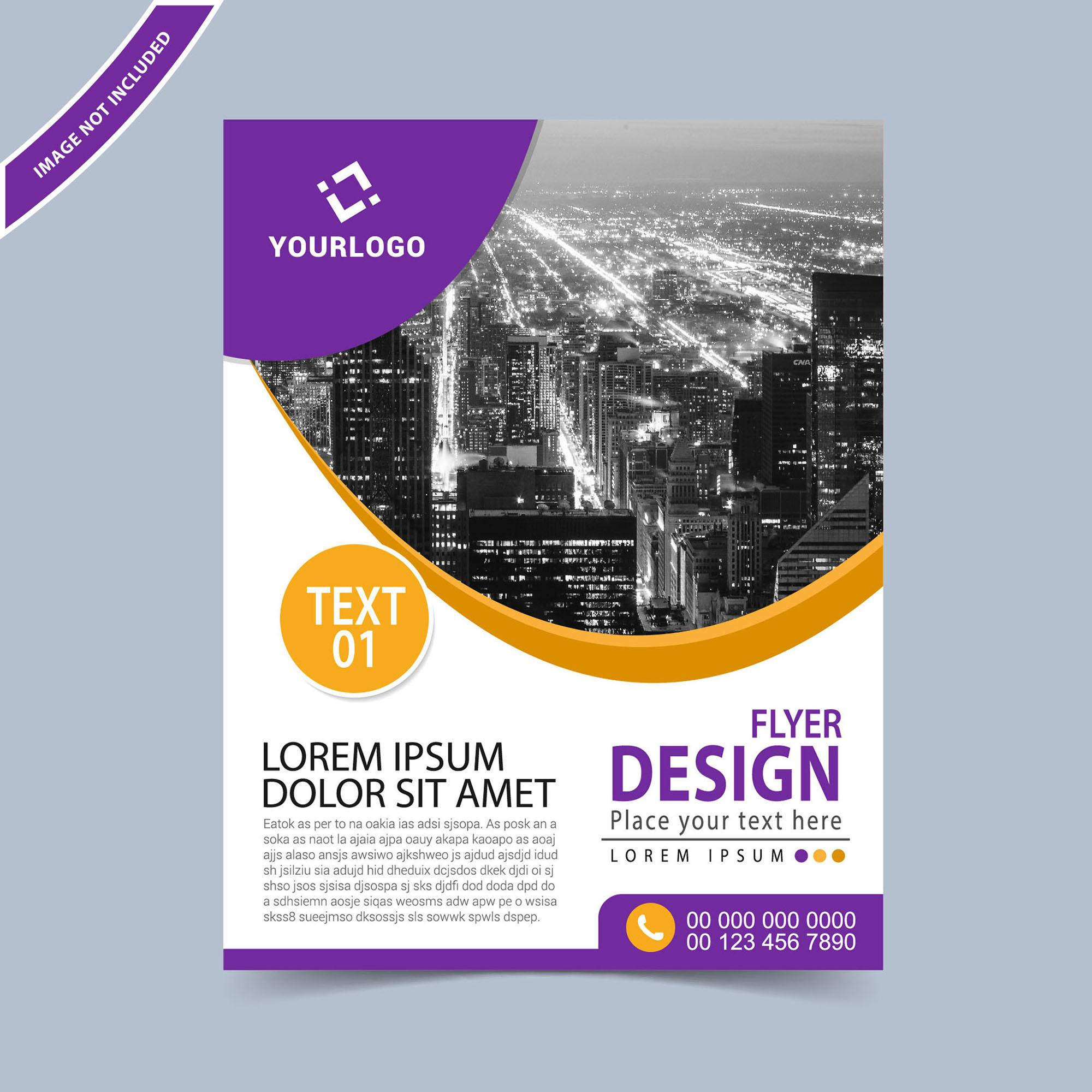 Business Flyer Design Templates Free Download