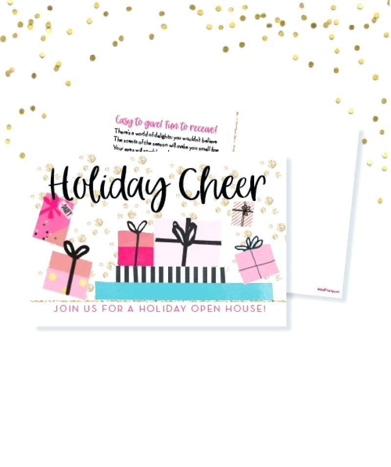 Business Holiday Open House Invitation Wording