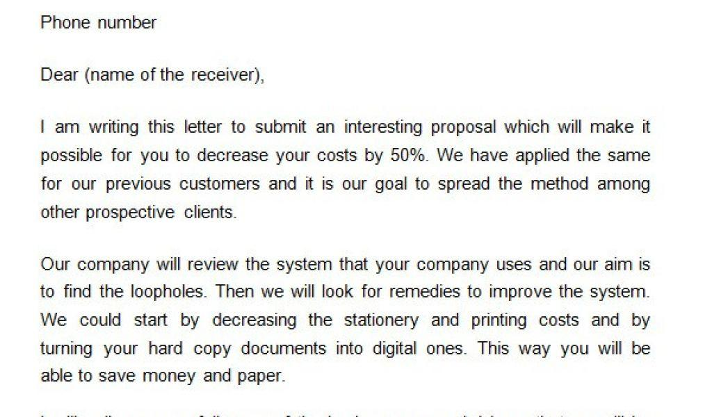 Business Partnership Proposal Template Pdf
