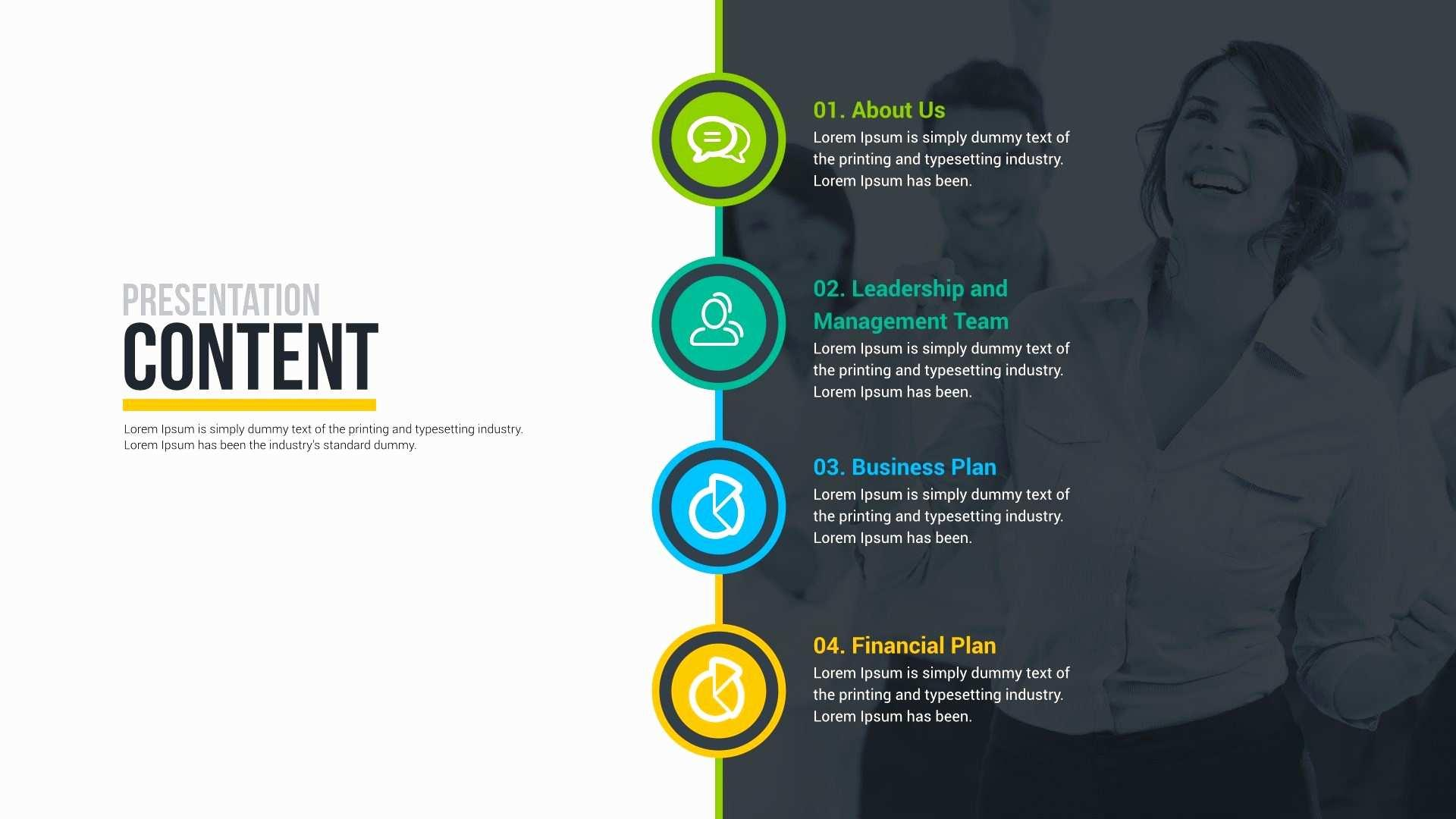 Business Pitch Powerpoint Template Free Download