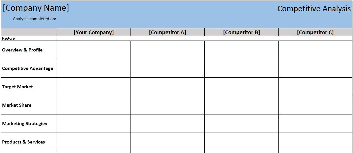 Business Plan Balance Sheet Template Excel