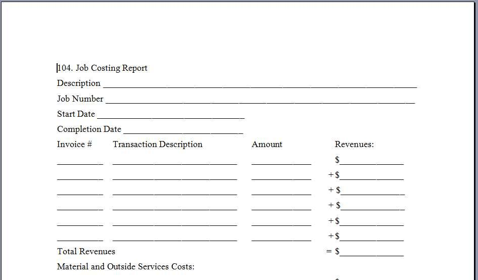 Business Plan Template Canada