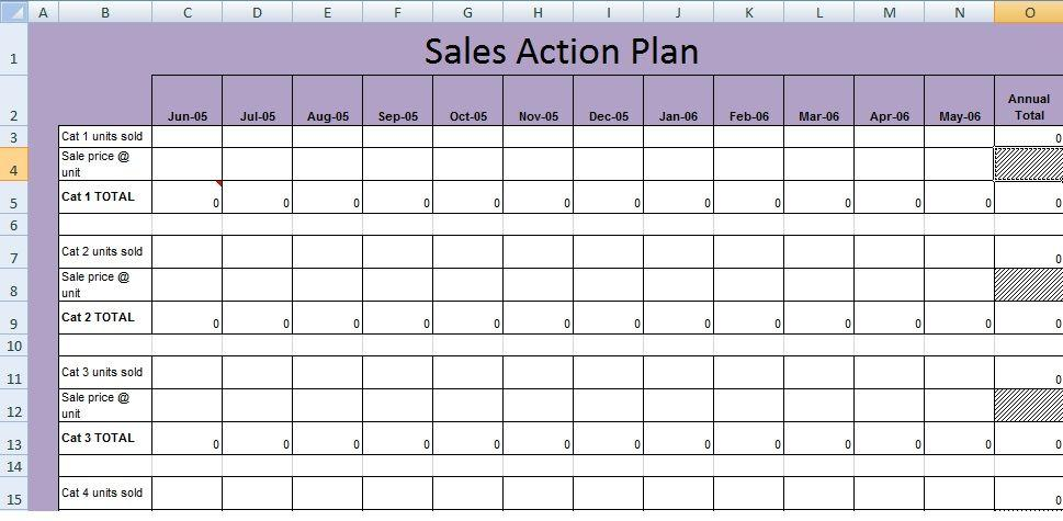 Business Plan Xls Template