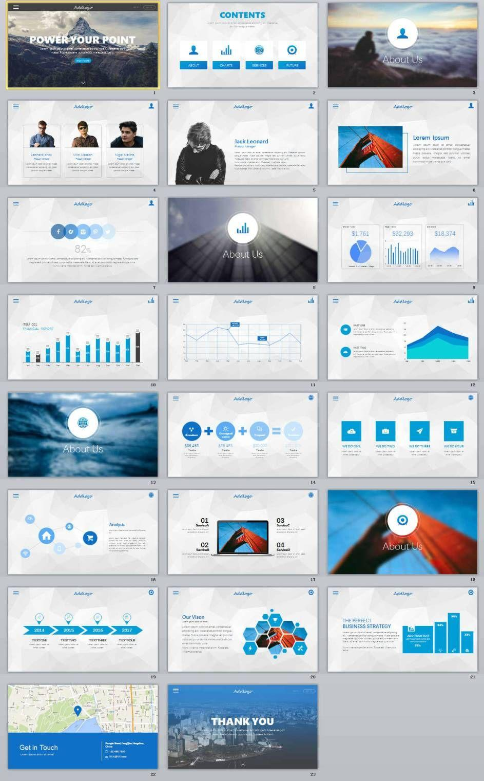 Business Powerpoint Templates Microsoft