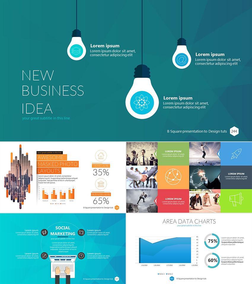 Business Presentation Ppt Theme