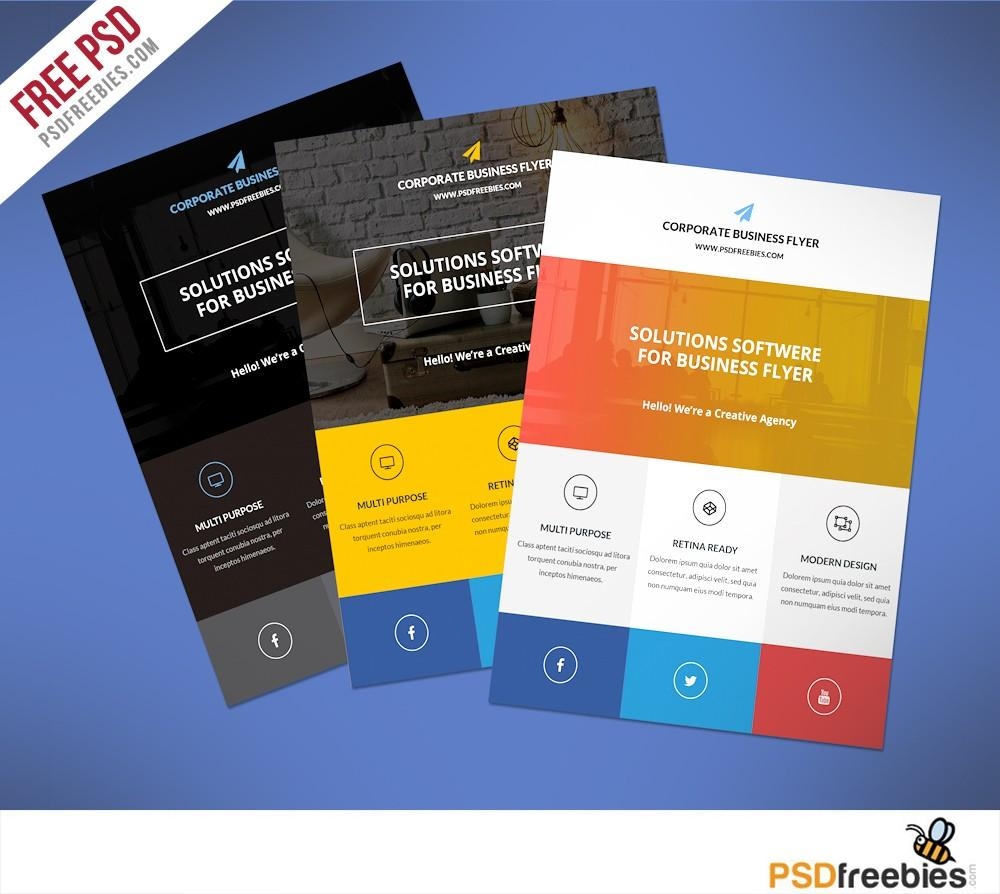 Business Promotional Flyers Templates