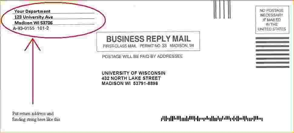 Business Reply Envelope Template Indesign