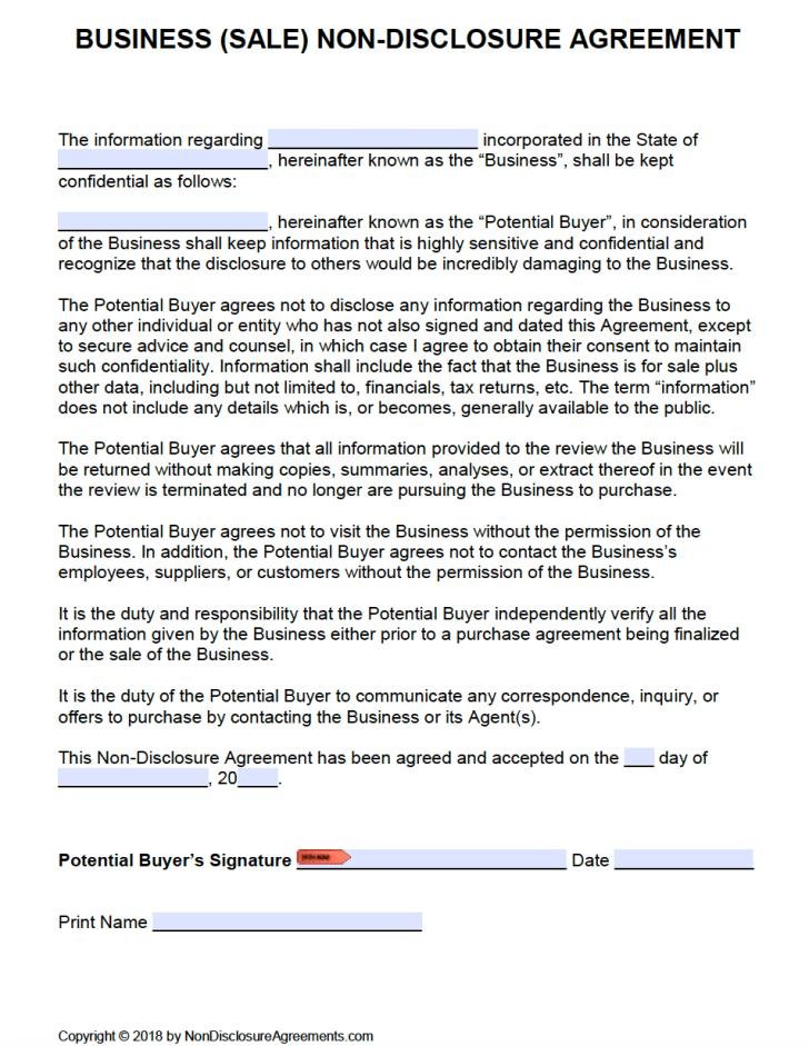 Business Sale Agreements Templates