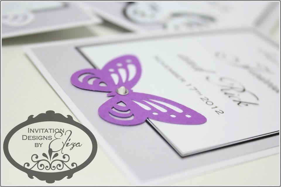 Butterfly Invitation Designs