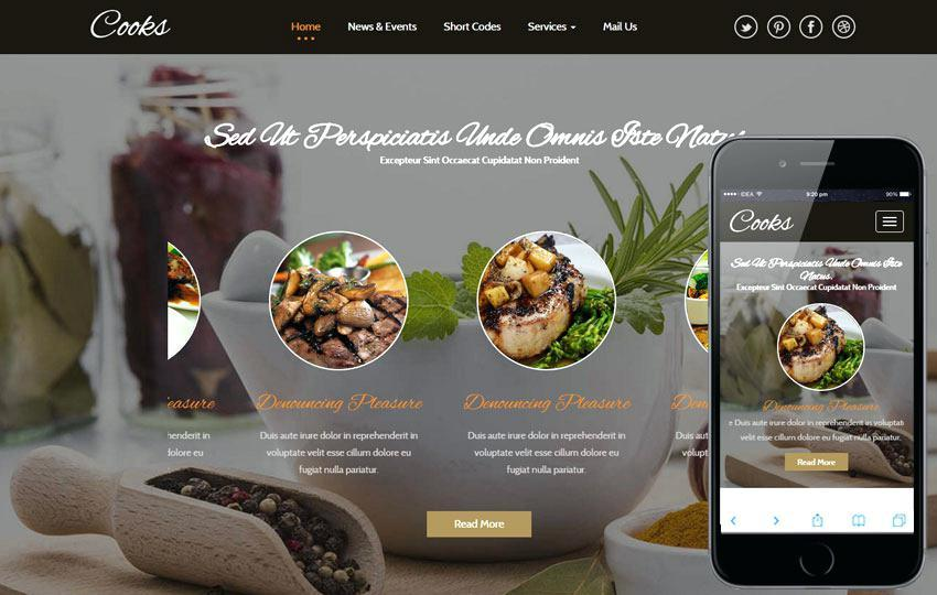 Cafe Duke Restaurant Html5 Template Nulled