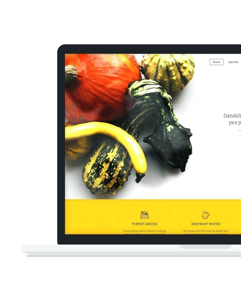 Cafe Duke Restaurant Html5 Template