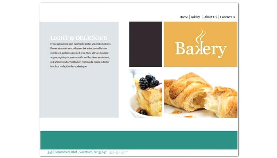 Cake Baking Website Templates