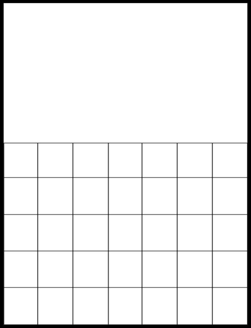 Calendar Grid Template